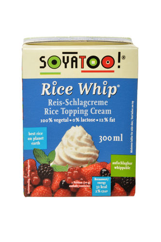 Soyatoo! Rice Whip Reis-Schlagcreme